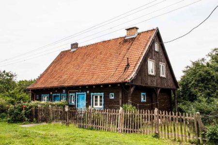 Das Nachbar Holzhaus in den Masuren