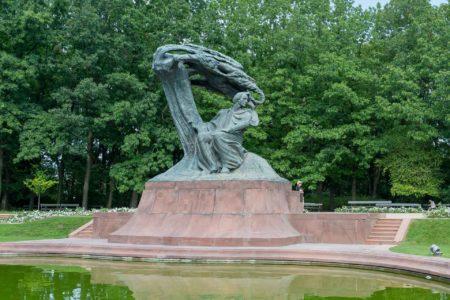 Frédéric Chopin Denkmal